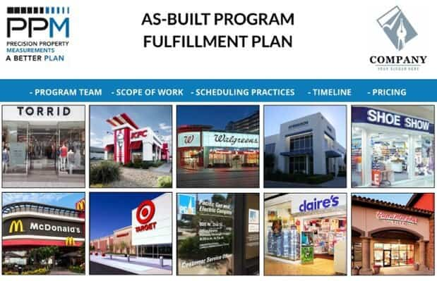 AS-BUILT PROGRAM FULLFILLMENT PLAN