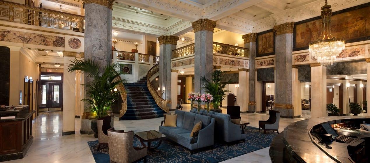 The Seelbach Lobby