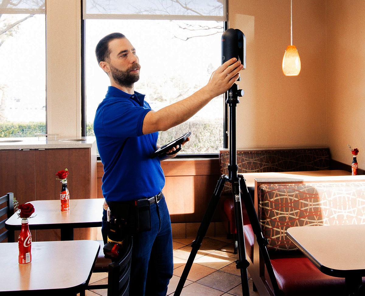 Leica BLK360 Laser Scanning